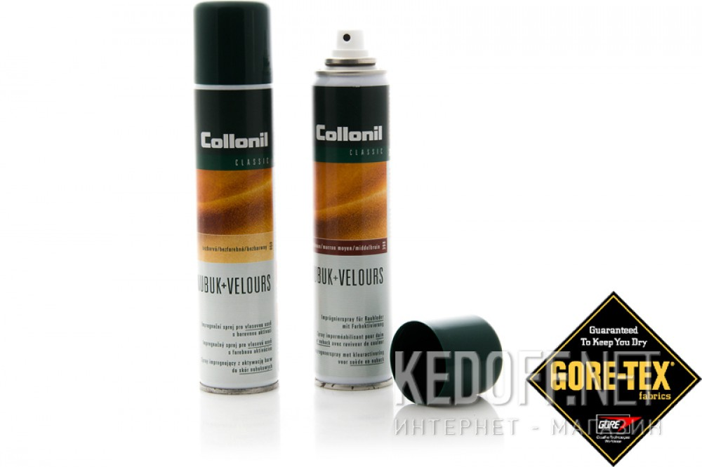 Защитный спрей Collonill Nubuk Velours Spray 399 т.-коричневый