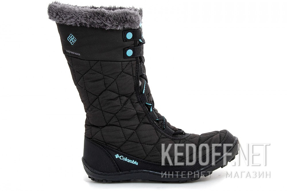 Зимняя обувь Columbia Youth Minx Mid ||  By1313-010 Черные