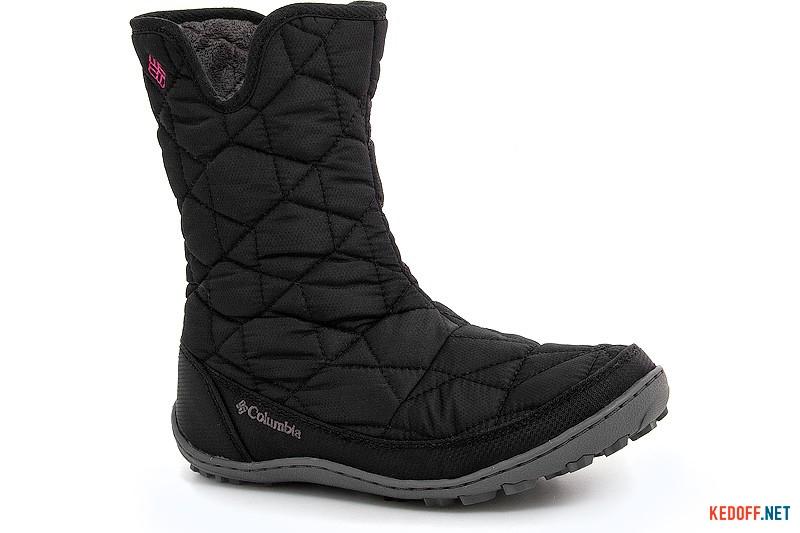 Утеплені черевики Columbia Youth Minx Slip By1329-010 Чорні