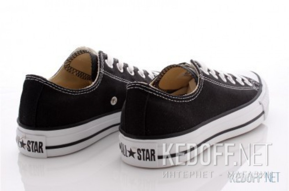 Доставка Кеды Converse Chuck Taylor All Star Ox Low M9166C унисекс   (чёрный)
