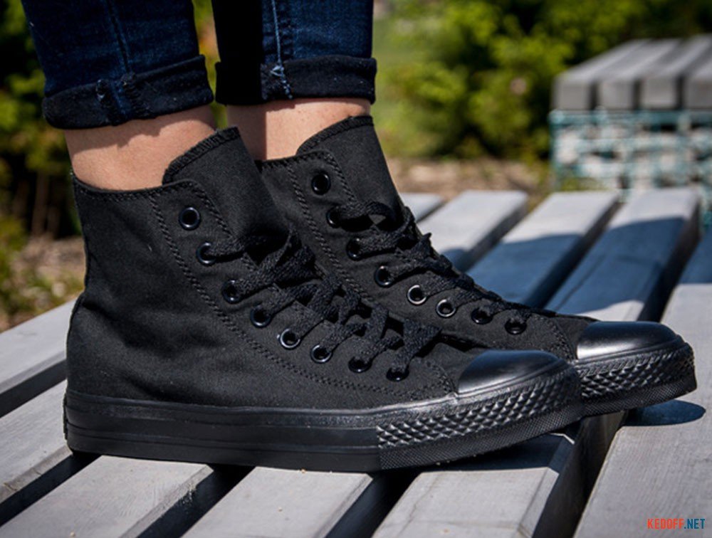 5481cc3aa9 Converse Chuck Taylor All Star Core Hi Black Monochrome M3310 доставка по  Украине
