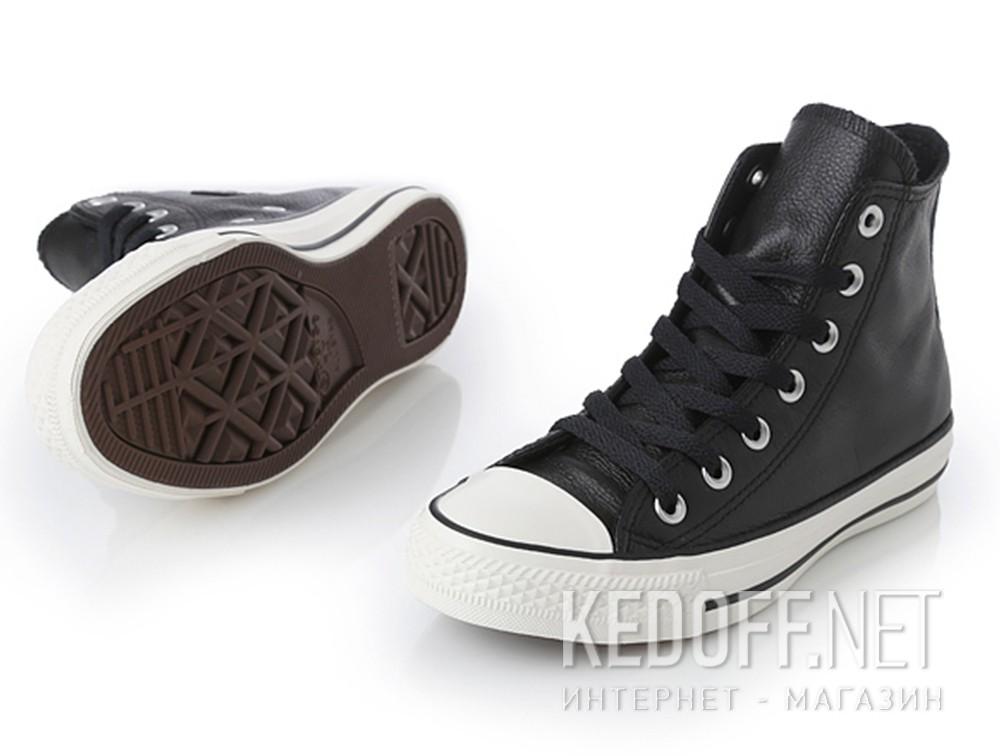 Мужские кеды Converse Chuck Taylor All Star Tumble Leather 157468C   (чёрный) все размеры