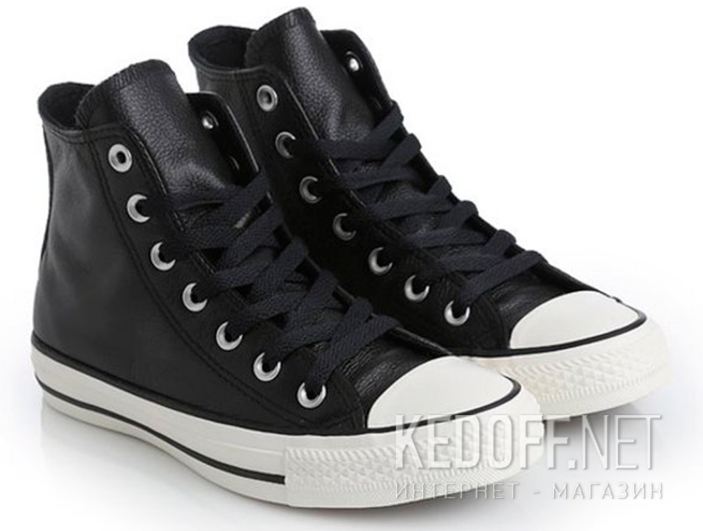 Chuck Taylor All Star Hi Plimsolls In Black 157468C - Black Converse