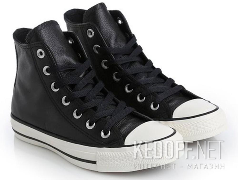 Доставка Мужские кеды Converse Chuck Taylor All Star Tumble Leather 157468C   (чёрный)