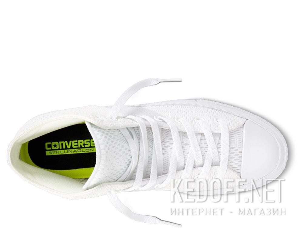 Кеды Converse Chuck Tailor All Star II Engineered Mesh Hi 155748C унисекс   (белый)