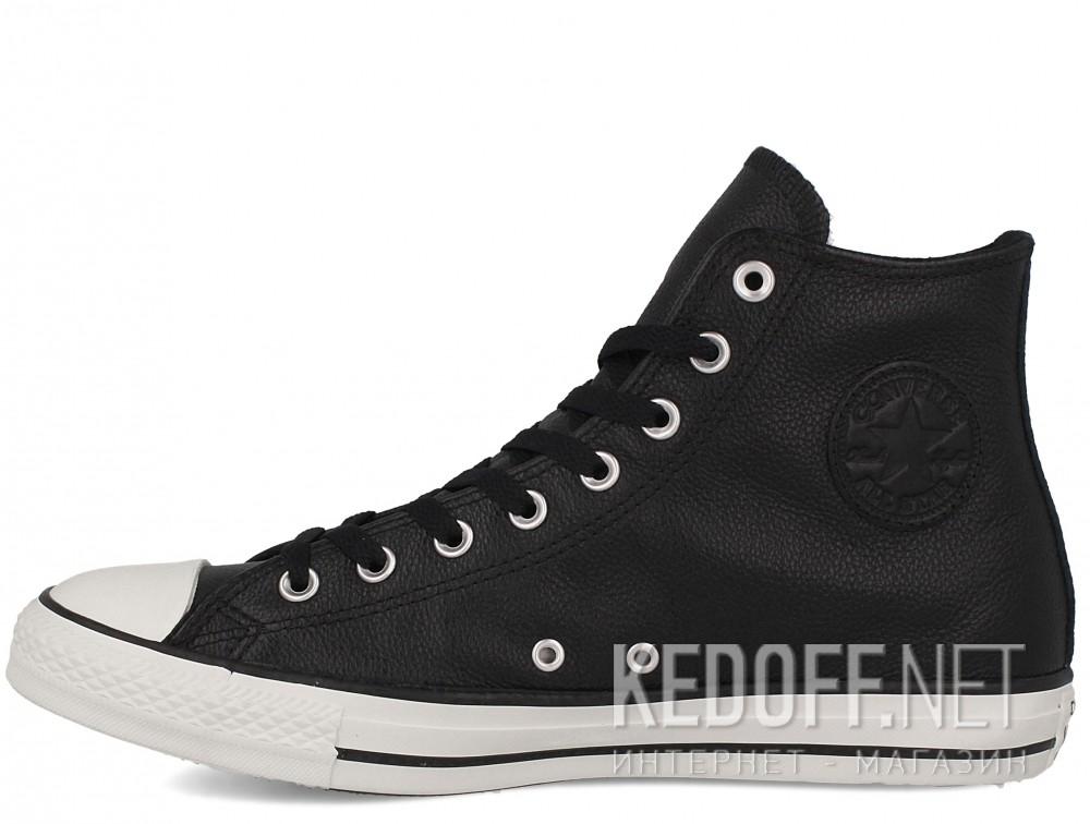 Оригинальные Мужские кеды Converse Chuck Taylor All Star Tumble Leather 157468C   (чёрный)