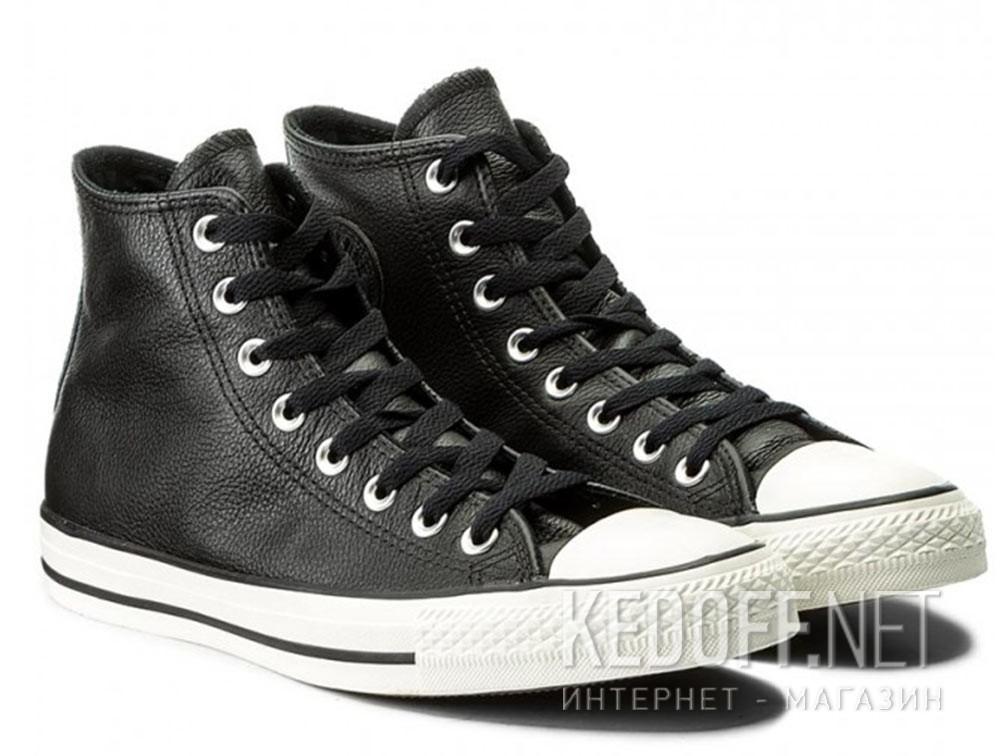 Мужские кеды Converse Chuck Taylor All Star Tumble Leather 157468C   (чёрный) описание