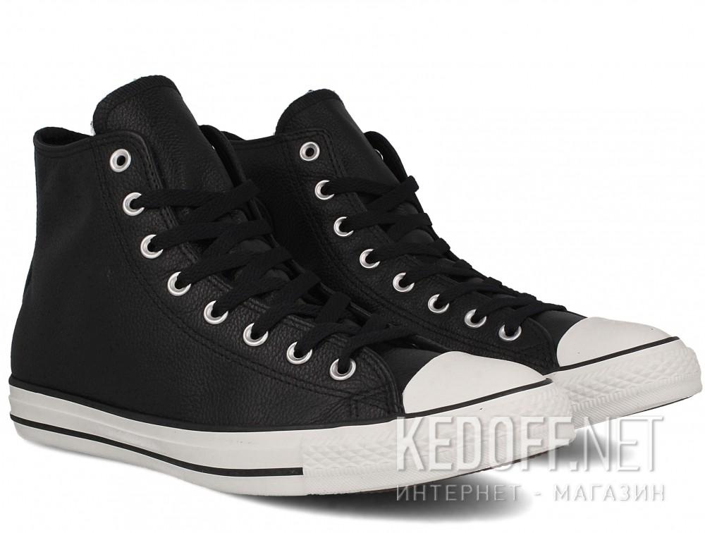 Мужские кеды Converse Chuck Taylor All Star Tumble Leather 157468C (чёрный)  купить Украина 7a30b7a5307