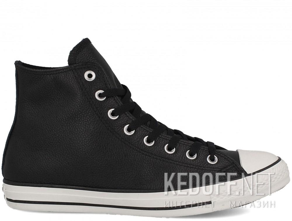 Мужские кеды Converse Chuck Taylor All Star Tumble Leather 157468C   (чёрный) купить Киев