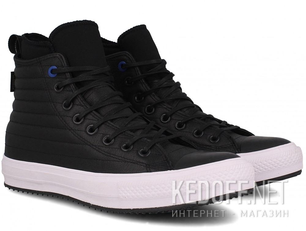 Оригинальные Кожаные кеды Converse Chuck Taylor All Star Waterproof Boot Quilted Leather 157492C