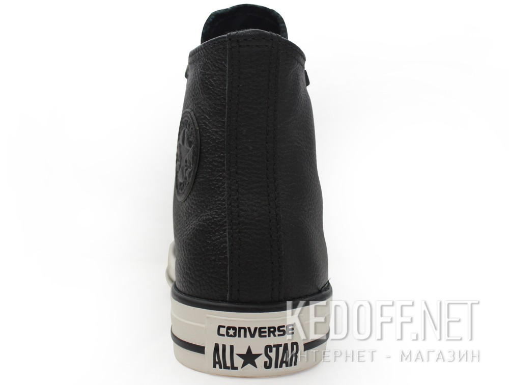 Мужские кеды Converse Chuck Taylor All Star Tumble Leather 157468C   (чёрный)
