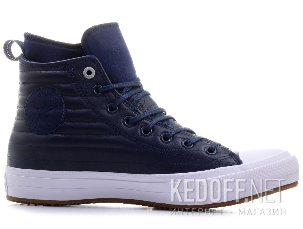 4a716a6f54a Leather sneakers Converse Chuck Taylor All Star Waterproof Boot Quilted Leather  157490C unisex (Dark blue