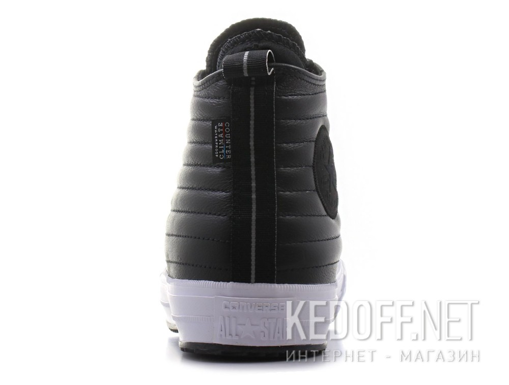 534c514f512254 Delivery Leather sneakers Converse Chuck Taylor All Star Waterproof Boot  Quilted Leather 157492C unisex (Black