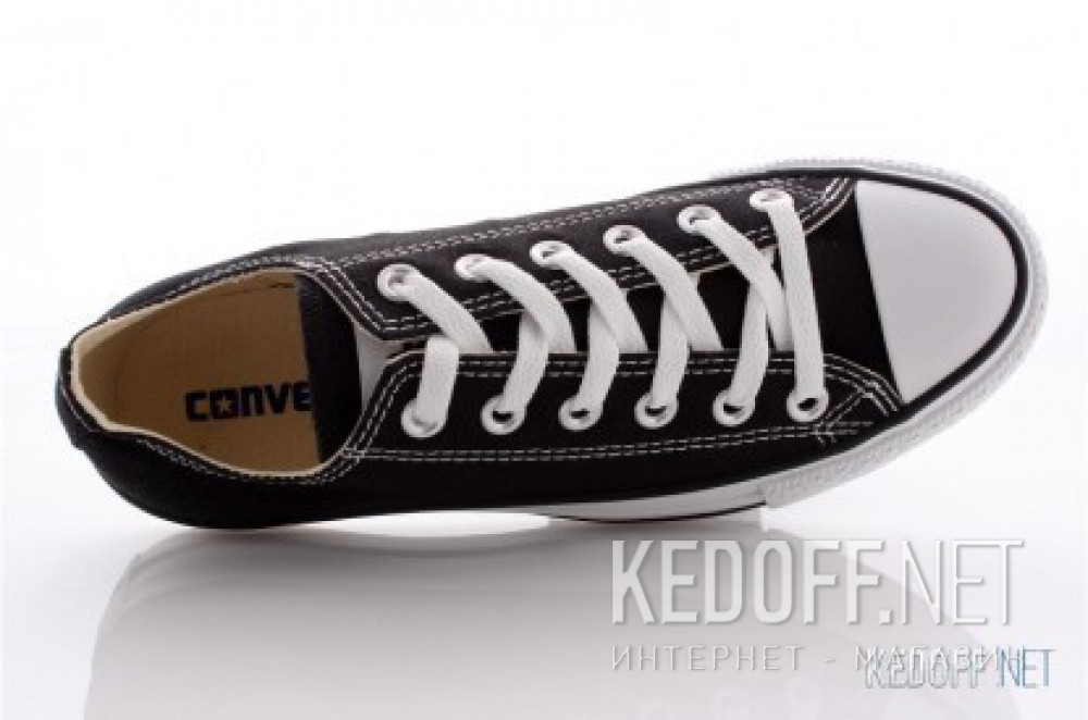 Оригинальные Кеди Converse Chuck Taylor All Star Ox Low M9166C (Чорний)