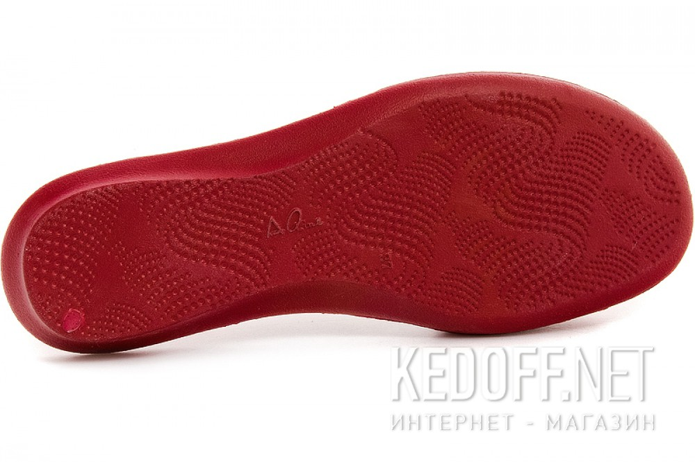 Women's slippers Coral Coast Aoline 14101-6 Red