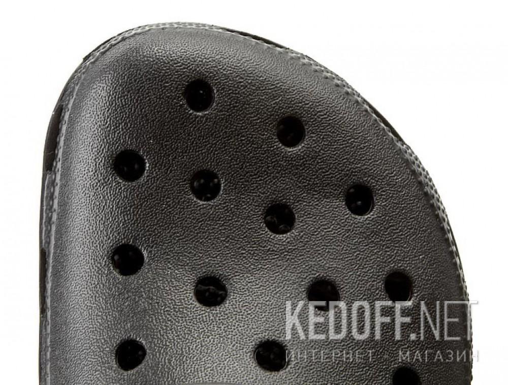 Оригинальные Сланцы и шлепанцы Crocs Comfortable Classic 10001-001 унисекс   (чёрный)