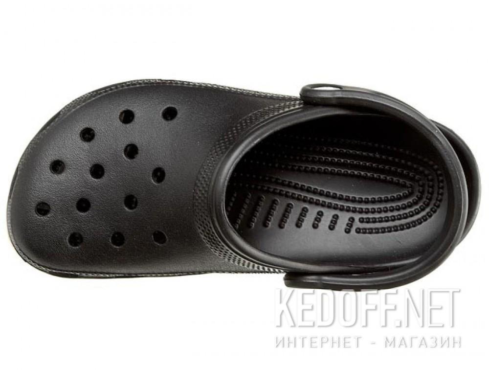 Сланцы и шлепанцы Crocs Comfortable Classic 10001-001 унисекс   (чёрный) описание