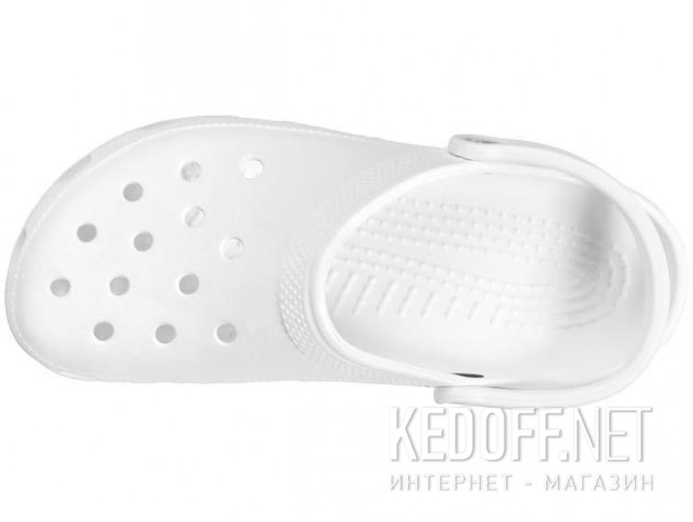 Сандалии Crocs Classic AKA Cayman 10001-100 унисекс   (белый) описание
