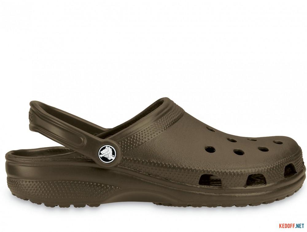 Сандалии Crocs Classic 10001-200 унисекс   (коричневый) купить Киев