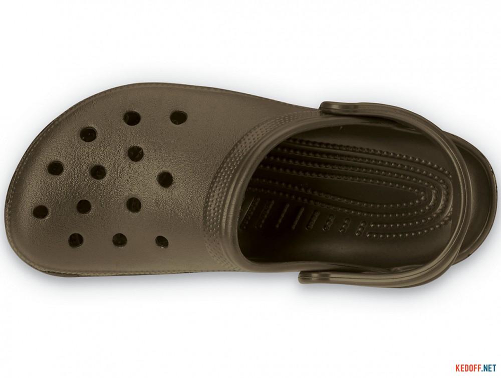 Сандалии Crocs Classic 10001-200 унисекс   (коричневый) описание