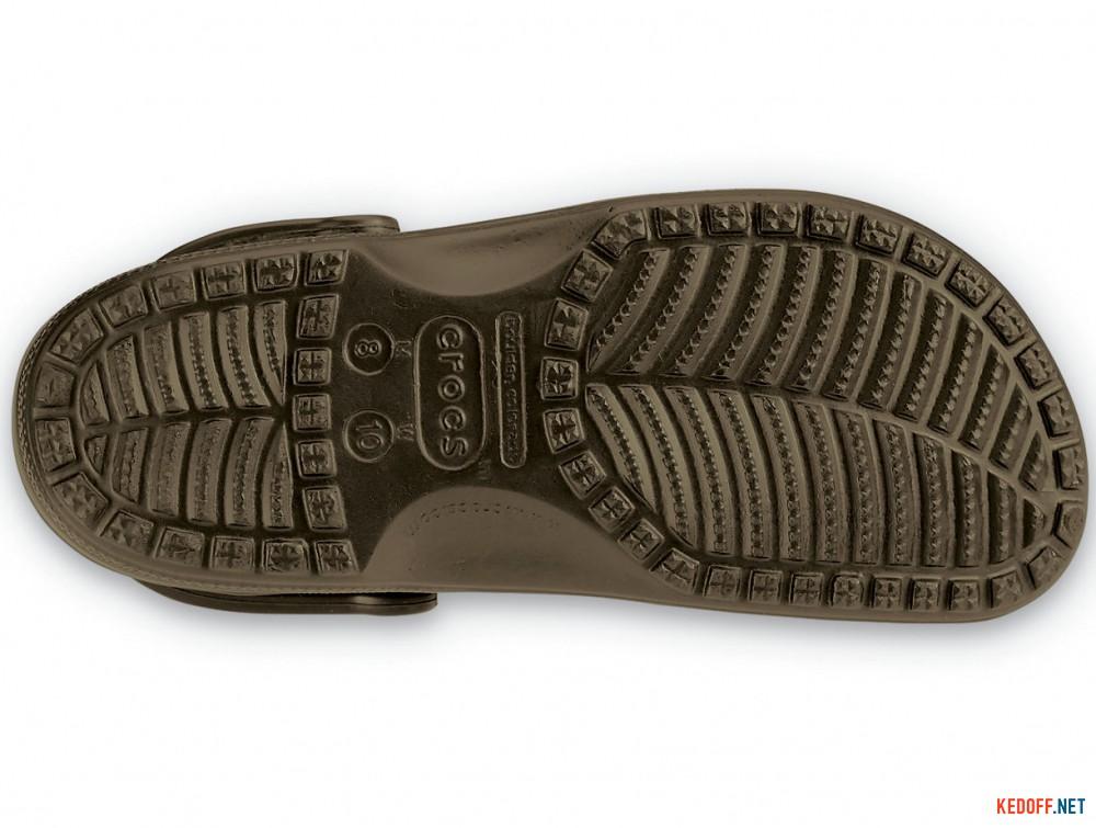 Цены на Сандалии Crocs Classic 10001-200 унисекс   (коричневый)