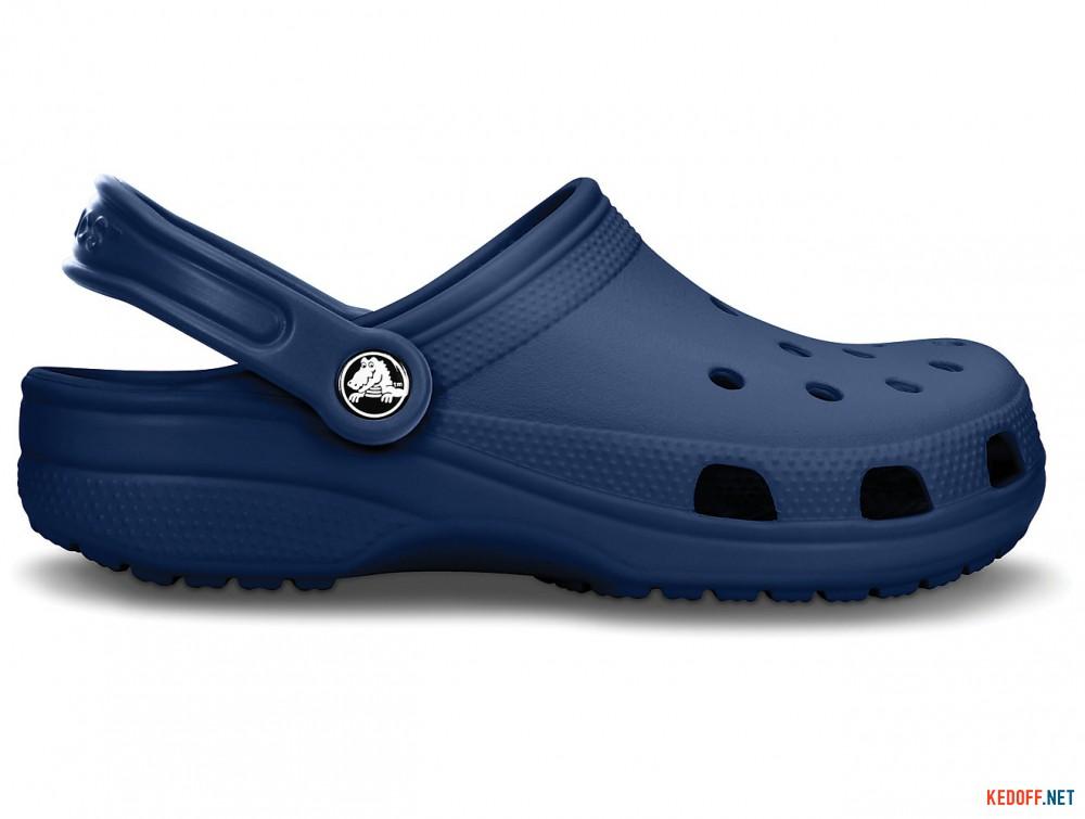Оригинальные Сабо Crocs Classic 10001-410 (тёмно-синий)