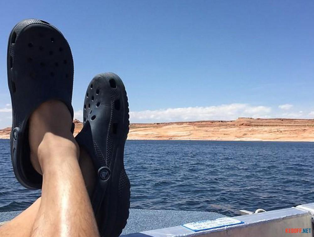 Сабо Crocs Classic 10001-410 (тёмно-синий) все размеры