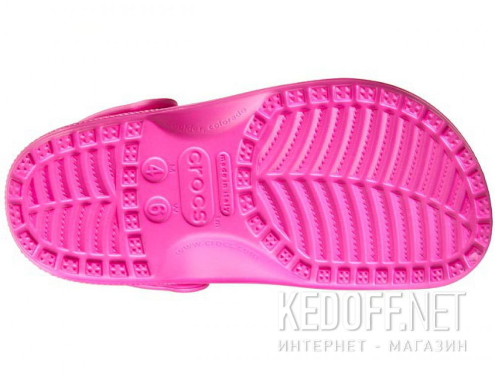 Цены на Сандалии Crocs Classic AKA Cayman 10001-6Lo унисекс   (малиновый/розовый)
