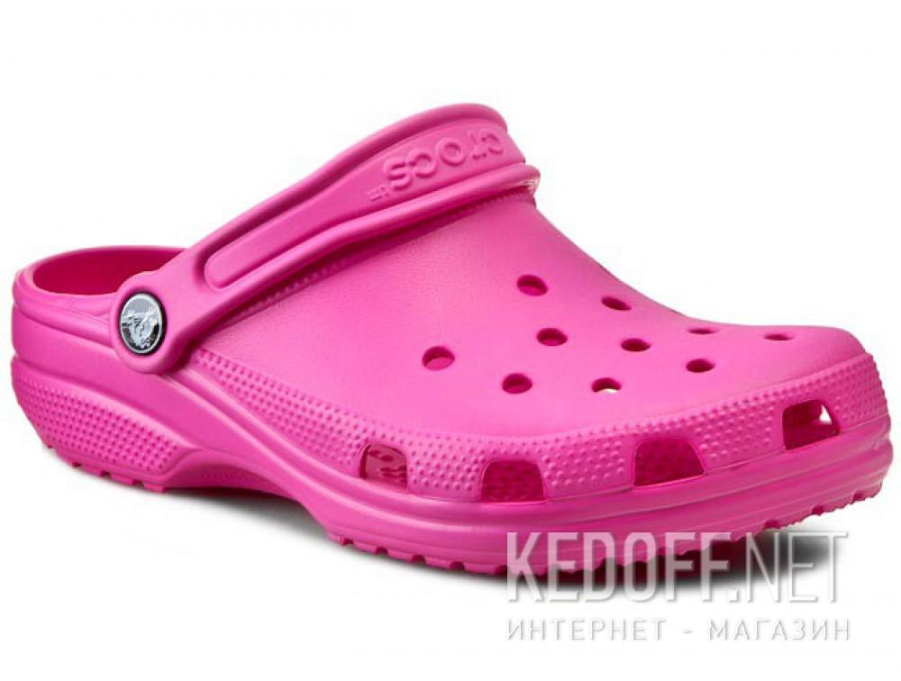 Купить Сандалии Crocs Classic AKA Cayman 10001-6Lo унисекс   (малиновый/розовый)