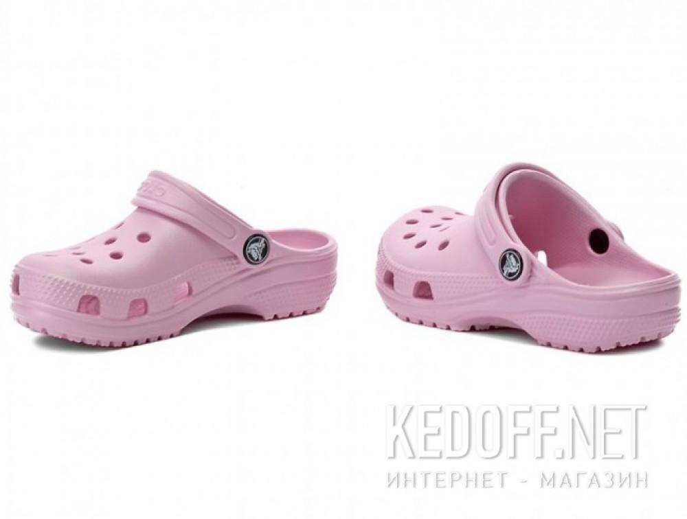Оригинальные Тапочки для коралов Crocs Classic AKA Kids Cayman 10006 унисекс   (пудра/розовый)