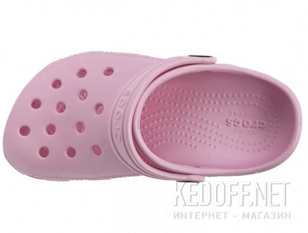 Тапочки для коралов Crocs Classic AKA Kids Cayman 10006 унисекс   (пудра/розовый) описание