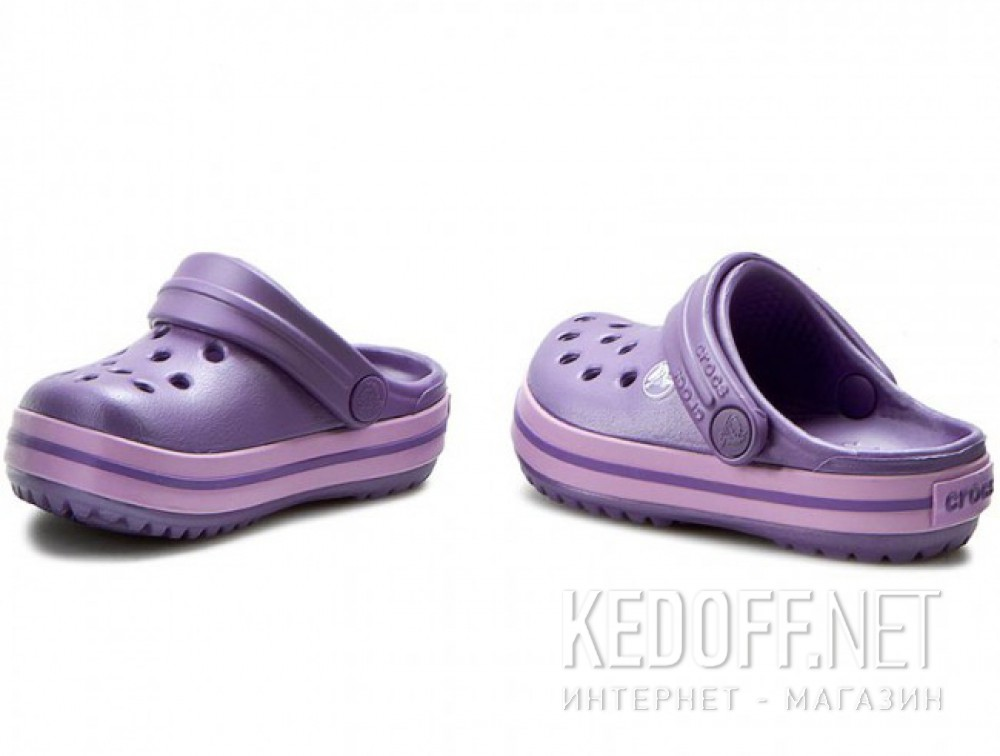 Сандалии Crocs Crocband 10998-5N4 унисекс   (перламутровый/фиолетовый) купить Украина