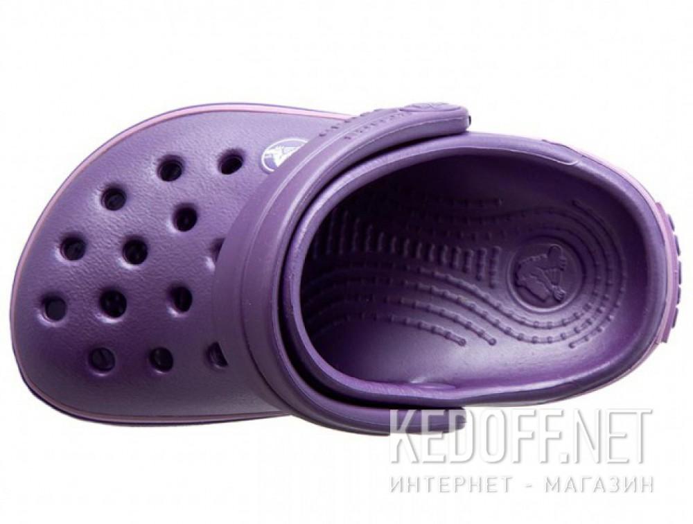 Сандалии Crocs Crocband 10998-5N4 унисекс   (перламутровый/фиолетовый) описание
