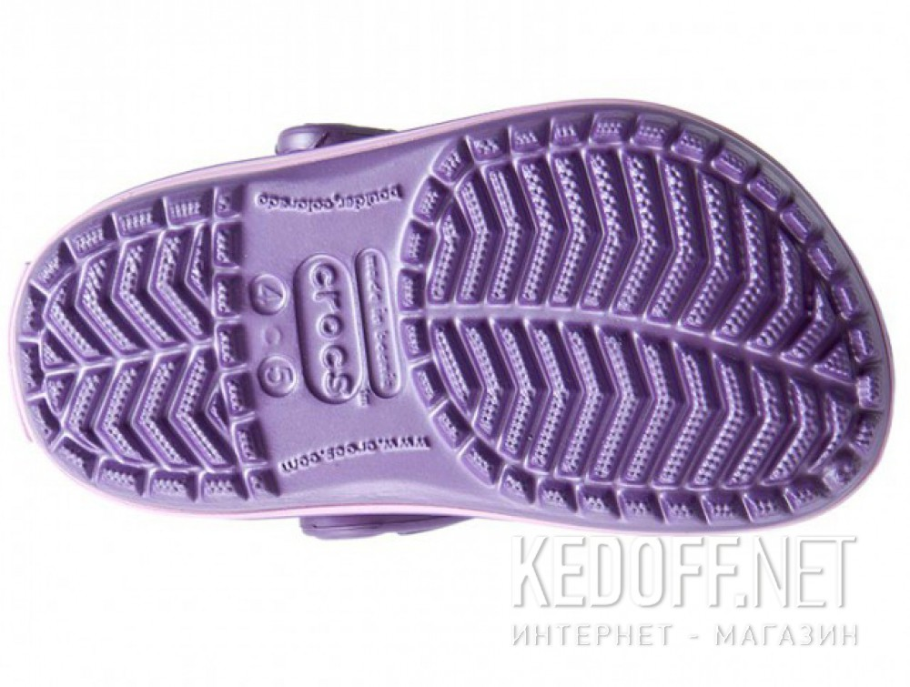 Цены на Сандалии Crocs Crocband 10998-5N4 унисекс   (перламутровый/фиолетовый)