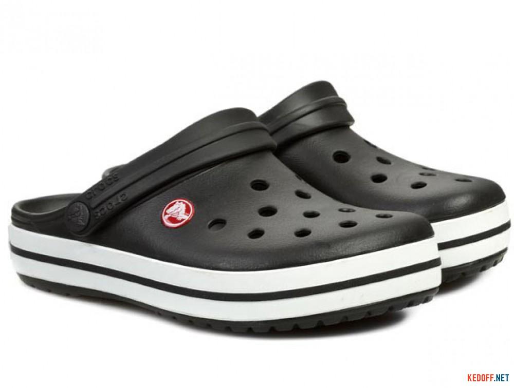 Сандалии Crocs Crocband 11016-001 унисекс   (чёрный/белый) купить Украина