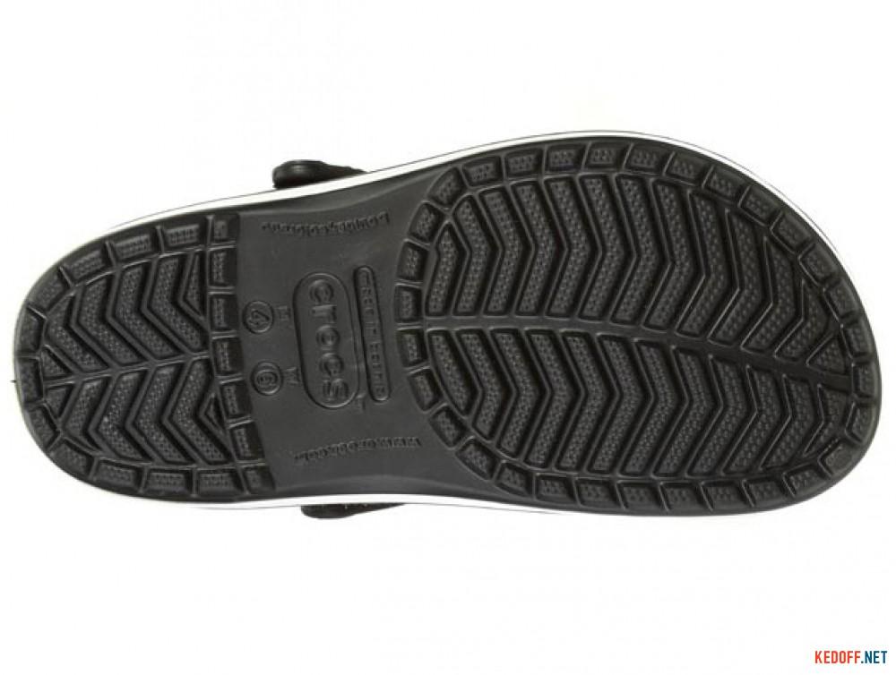 Сандалии Crocs Crocband 11016-001 унисекс   (чёрный/белый) купить Киев