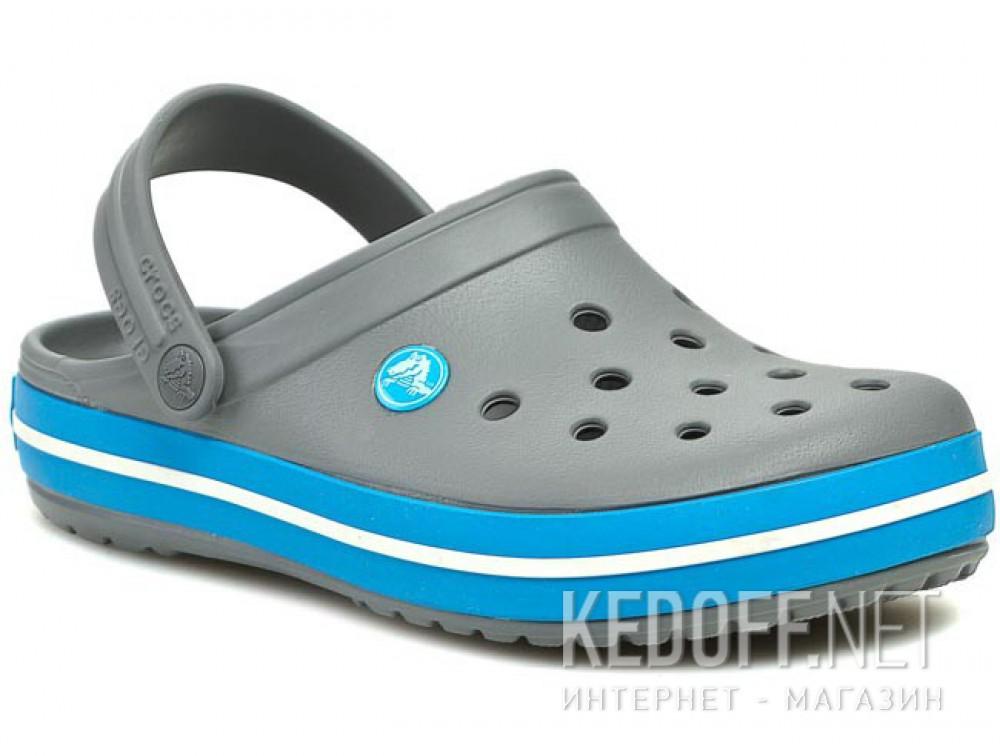 Dodaj do koszyka Sandały Crocs Crocband 11016-07W unisex (ciemno-szary/niebieski/szary)