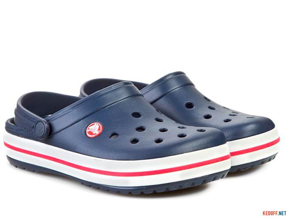 Сандалии Crocs Crocband 11016-410 унисекс   (синий/белый) купить Украина