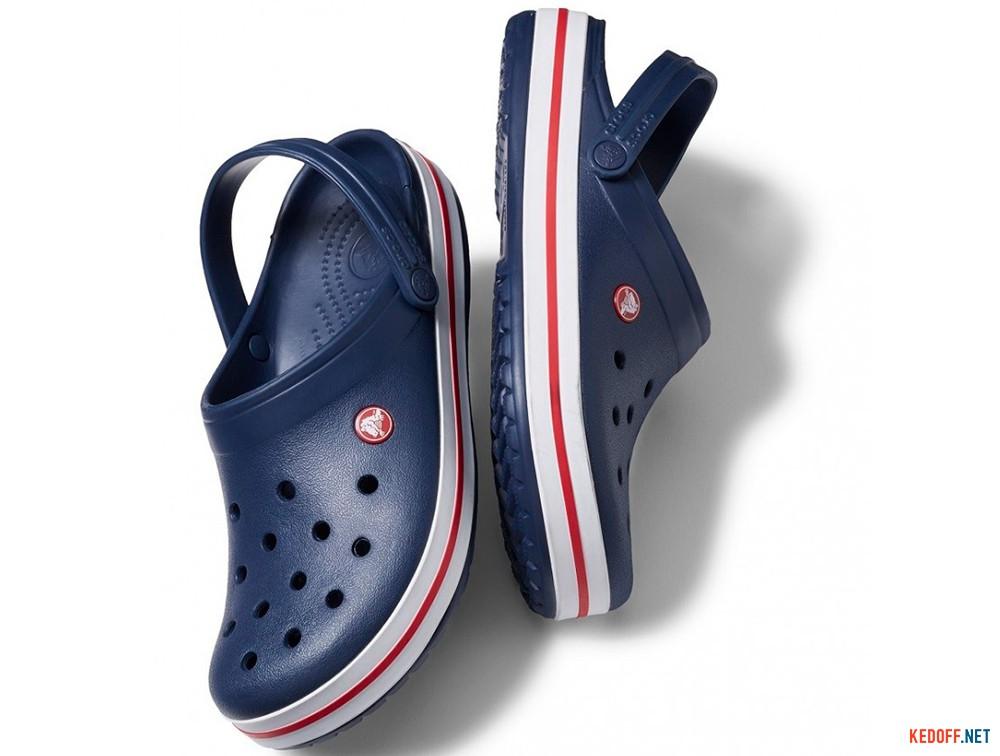 Оригинальные Сандалии Crocs Crocband 11016-410 унисекс   (синий/белый)
