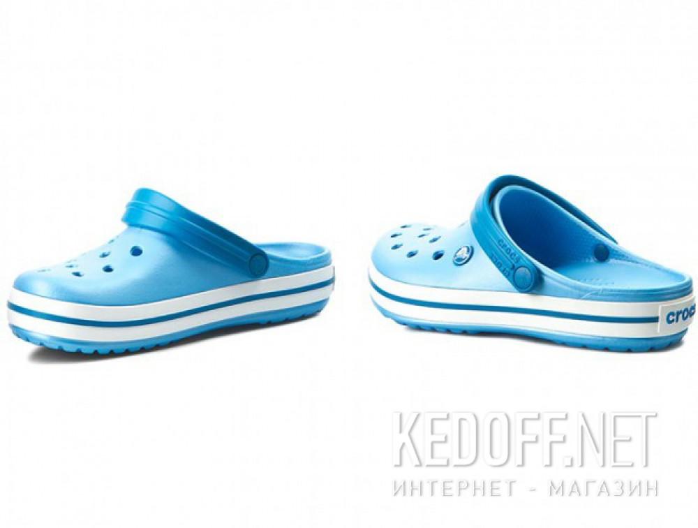 Цены на Сандалии Crocs Crocband 11016-4GL унисекс   (голубой/белый)