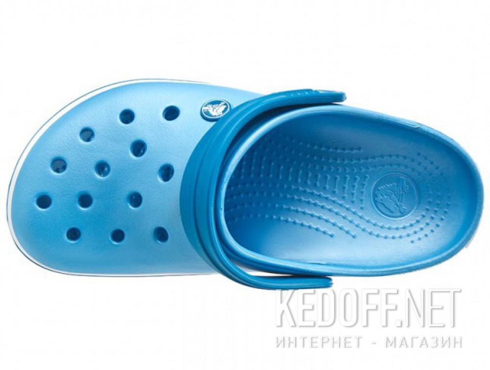 Доставка Сандалии Crocs Crocband 11016-4GL унисекс   (голубой/белый)