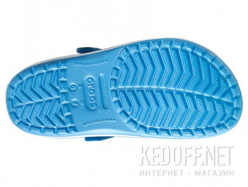 Сандалии Crocs Crocband 11016-4GL унисекс   (голубой/белый) доставка по Украине