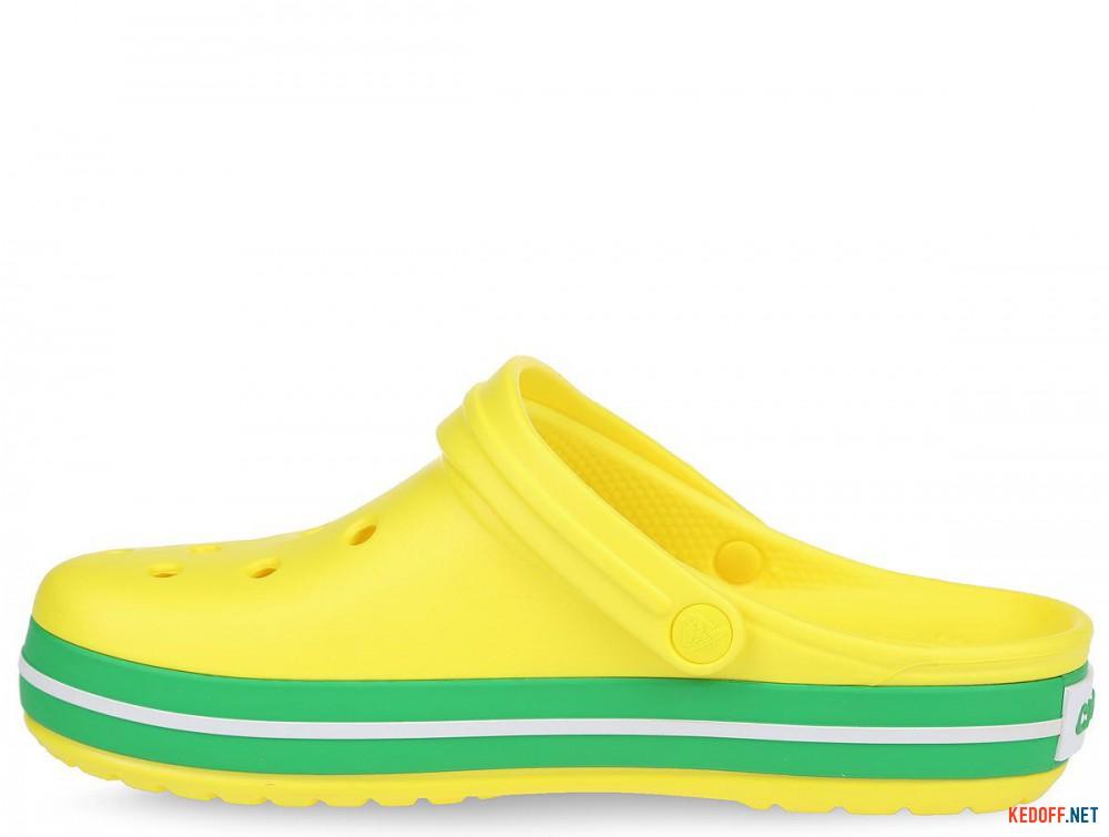 Пляжная обувь Crocs Crocband Lemon/Grass Green 11016-7A8 унисекс   (зеленый/жёлтый) купить Киев
