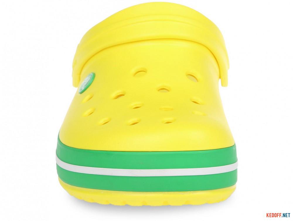 Оригинальные Пляжная обувь Crocs Crocband Lemon/Grass Green 11016-7A8 унисекс   (зеленый/жёлтый)