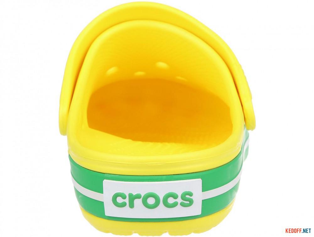 Пляжная обувь Crocs Crocband Lemon/Grass Green 11016-7A8 унисекс   (зеленый/жёлтый) описание
