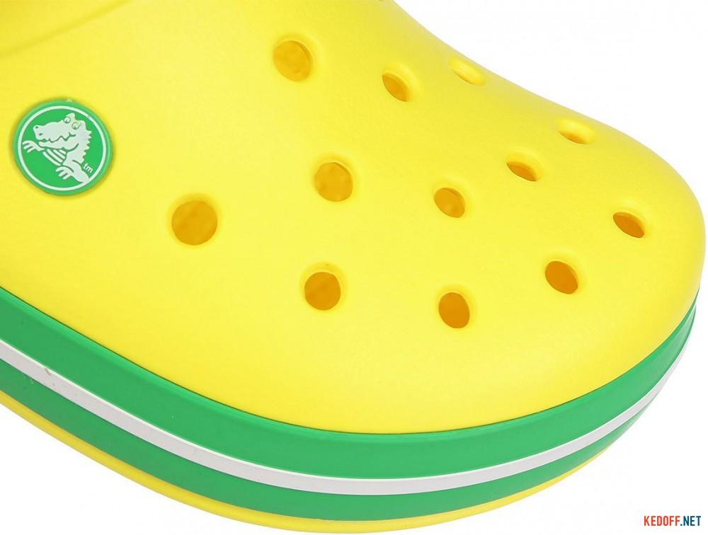Цены на Пляжная обувь Crocs Crocband Lemon/Grass Green 11016-7A8 унисекс   (зеленый/жёлтый)