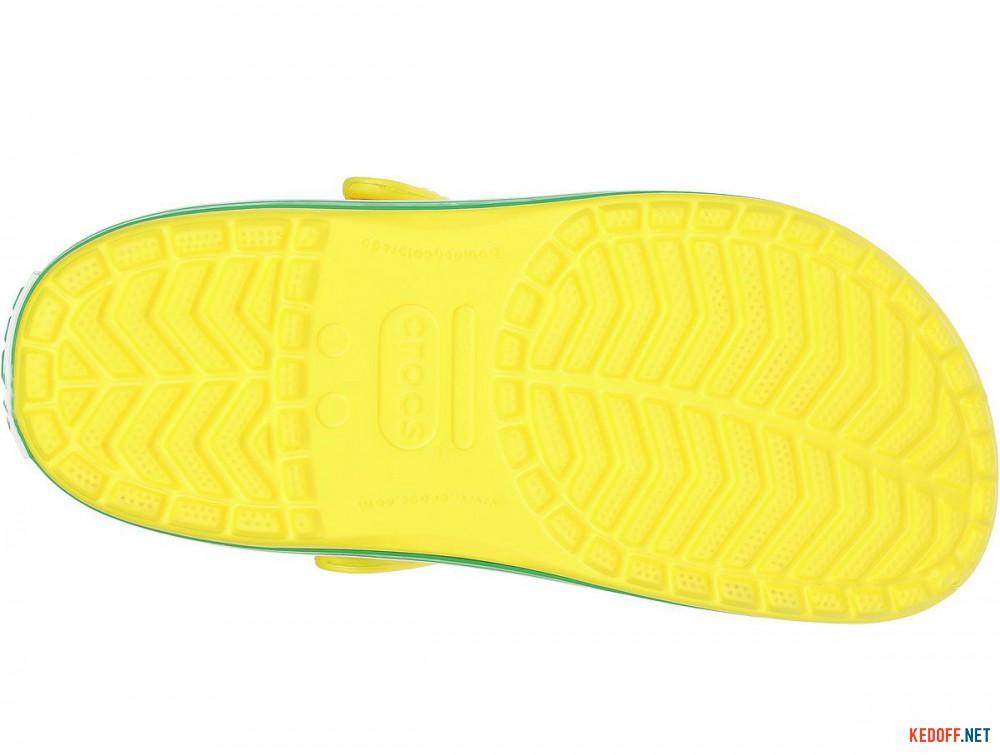 Доставка Пляжная обувь Crocs Crocband Lemon/Grass Green 11016-7A8 унисекс   (зеленый/жёлтый)