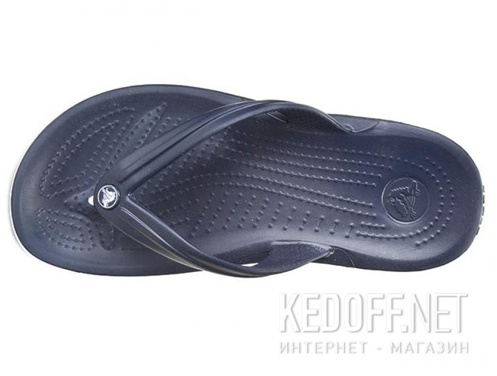 Вьетнамки Crocs Crocband Flip 11033-410 унисекс   (синий) описание