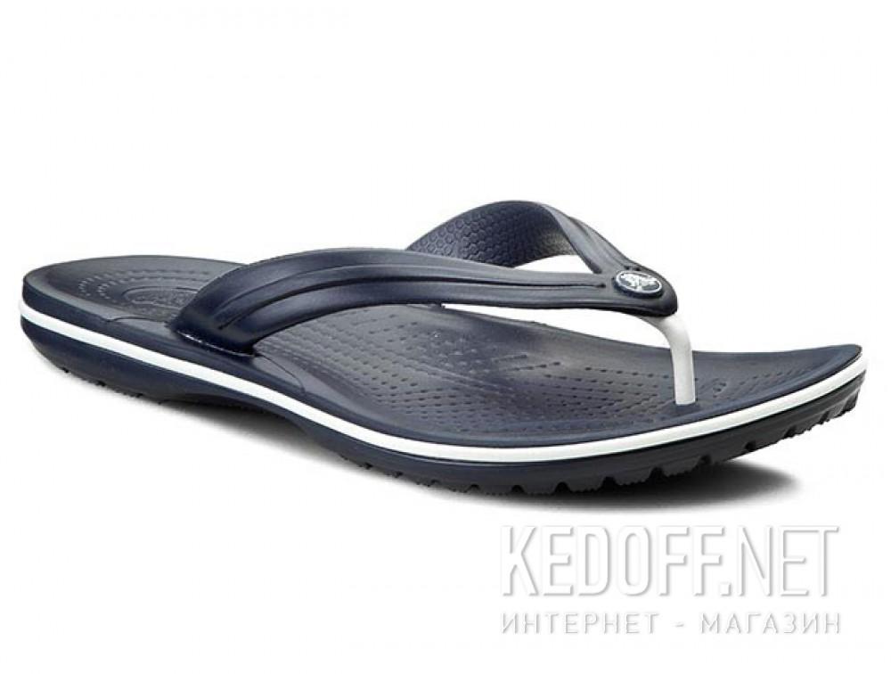 Купить Вьетнамки Crocs Crocband Flip 11033-410 унисекс   (синий)