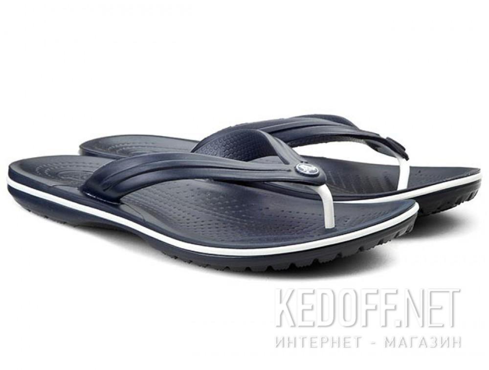 Вьетнамки Crocs Crocband Flip 11033-410 унисекс   (синий) купить Украина
